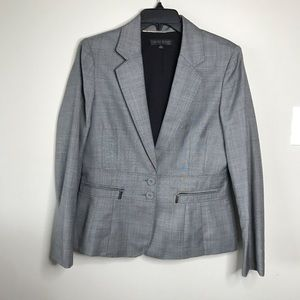 Anne Klein Suit Wool Heavy Blazer Jacket